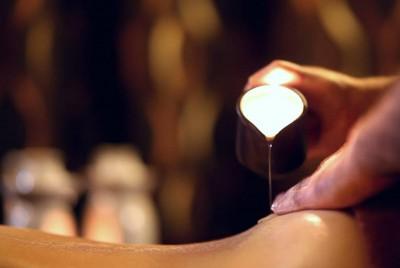 Magia Dotyku - luksusowa ceremonia z masażem grzbietu ciepłym olejem z płonącej świecy Organique 90 minut